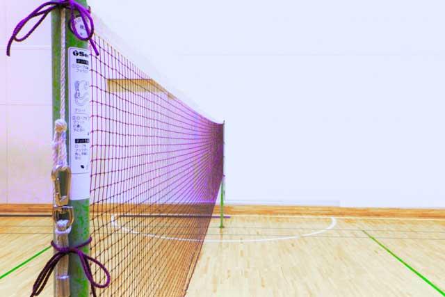 体育館スポーツフロアの床金具などの保護