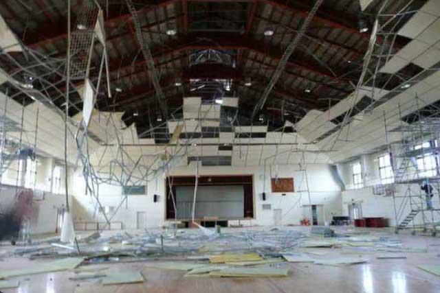 屋内運動場等の天井等落下防止対策の必要性