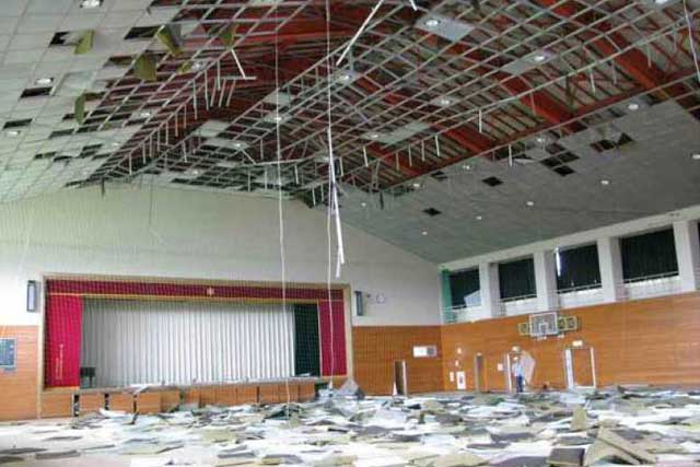 屋内運動場等の天井等落下防止対策とあわせて講ずべき措置